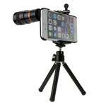 Чехол с объективом Hautik для Apple iPhone 6 (Telephoto 8X, телеобъектив, пластиковый корпус)