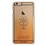 Чехол G-Case Diamond in Love Series для Apple iPhone 6 (золотистый, пластиковый)