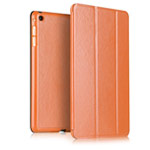 Чехол Yotrix SmartCase для Apple iPad Air 2 (оранжевый, кожаный)