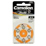 Комплект батареек Camelion (размер A13, 1.4V, 6 шт., Zinc Air)