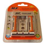 Зарядное устройство MP 912 сетевое (зарядка 4 шт. x AA/AAA/1 шт. крона, комплект 2 шт. х АА 2000 mAh)