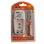 Зарядное устройство MP 820 сетевое (зарядка 2 шт. x AA/AAA/1 шт. крона, комплект 2 шт. х АА 2000 mAh)