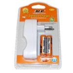 Зарядное устройство MP 817 сетевое (зарядка 2 шт. x AA/AAA, комплект 2 шт. х АА 2000 mAh)