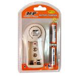 Зарядное устройство MP 814 сетевое (зарядка 2 шт. x AA/AAA/1 шт. крона, комплект 2 шт. х АА 2000 mAh)