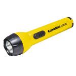 Светодиодный фонарик Camelion SuperBright (3 светодиода, 2 батарейки AA, желтый)