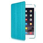 Чехол Yotrix SmartCase для Apple iPad Air 2 (голубой, кожаный)