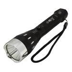 Светодиодный фонарик Light Power ZY-808 (1 сверхяркий светодиод, аккумулятор, черный)