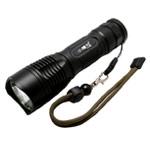 Светодиодный фонарик Light Power ZY-855 (1 сверхяркий светодиод, аккумулятор, серый)