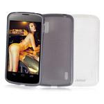 Чехол Jekod Soft case для LG Optimus F3 LS720 (белый, гелевый)