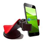 Автомобильный держатель Yotrix Mobile Phone Holder универсальный (черный/красный)
