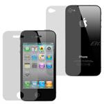 Защитная пленка Zichen для Apple iPhone 4 (глянц., двухсторонняя)