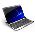 Чехол с Bluetooth-клавиатурой для Samsung Galaxy Tab 10.1 (алюеминивый)