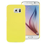 Чехол Yotrix HardCase для Samsung Galaxy S6 SM-G920 (желтый, пластиковый)