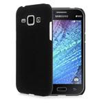 Чехол Yotrix HardCase для Samsung Galaxy J1 SM-J100 (черный, пластиковый)