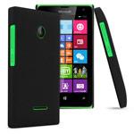 Чехол Yotrix HardCase для Microsoft Lumia 532 (черный, пластиковый)