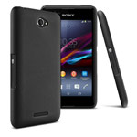 Чехол Yotrix HardCase для Sony Xperia E4 (черный, пластиковый)