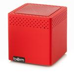 Портативная колонка bem wireless Mini Mobile (красная, беспроводная, моно)