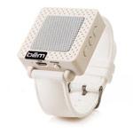 Портативная колонка bem wireless Speaker Band (белая, беспроводная, моно)