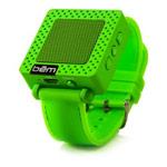 Портативная колонка bem wireless Speaker Band (зеленая, беспроводная, моно)