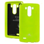 Чехол Mercury Goospery Jelly Case для LG G4 F500 (зеленый, гелевый)