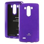 Чехол Mercury Goospery Jelly Case для LG G4 F500 (фиолетовый, гелевый)