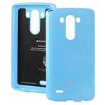 Чехол Mercury Goospery Jelly Case для LG G4 F500 (голубой, гелевый)