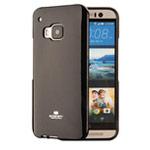 Чехол Mercury Goospery Jelly Case для HTC One M9 (черный, гелевый)
