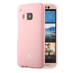 Чехол Mercury Goospery Jelly Case для HTC One M9 (розовый, гелевый)