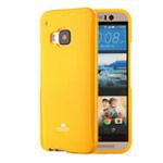 Чехол Mercury Goospery Jelly Case для HTC One M9 (оранжевый, гелевый)