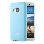 Чехол Mercury Goospery Jelly Case для HTC One M9 (голубой, гелевый)