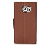 Чехол Mercury Goospery Fancy Diary Case для Samsung Galaxy S6 SM-G920 (коричневый, винилискожа)