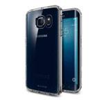 Чехол G-Case Ultra Slim Case для Samsung Galaxy S6 edge SM-G925 (серый, гелевый)
