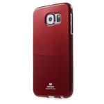 Чехол Mercury Goospery Jelly Case для Samsung Galaxy S6 SM-G920 (красный, гелевый)