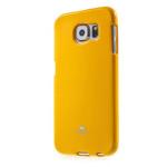 Чехол Mercury Goospery Jelly Case для Samsung Galaxy S6 SM-G920 (оранжевый, гелевый)