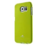 Чехол Mercury Goospery Jelly Case для Samsung Galaxy S6 SM-G920 (зеленый, гелевый)