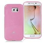 Чехол Mercury Goospery Jelly Case для Samsung Galaxy S6 edge SM-G925 (розовый, гелевый)