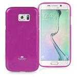 Чехол Mercury Goospery Jelly Case для Samsung Galaxy S6 edge SM-G925 (малиновый, гелевый)