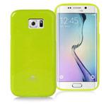 Чехол Mercury Goospery Jelly Case для Samsung Galaxy S6 edge SM-G925 (зеленый, гелевый)