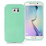 Чехол Mercury Goospery Jelly Case для Samsung Galaxy S6 edge SM-G925 (бирюзовый, гелевый)