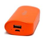 Внешняя батарея Golf Power Bank универсальная (5200 mAh, оранжевая)