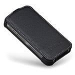 Чехол YooBao Slim case для iPhone 4 (черный, кожанный)