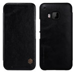 Чехол Nillkin Qin leather case для HTC One M9 (черный, кожаный)