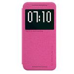 Чехол Nillkin Sparkle Leather Case для HTC One M9 (розовый, винилискожа)
