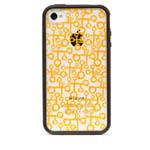 Чехол X-doria Scene Plus Case для Apple iPhone 4/4S (черный/прозрачный, с рисунком)