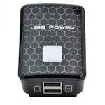 Зарядное устройство Yotrix USB Power Adapter универсальное (сетевое, 2.1A, 2xUSB, черное)