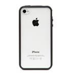 Чехол X-doria Scene Case для Apple iPhone 4/4S (черный/прозрачный)