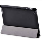 Чехол X-doria Brillian Case для Apple iPad 2 (карбон)