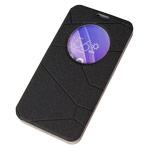 Чехол Yotrix FlipView case для Asus ZenFone 2 ZE550ML (черный, винилискожа)