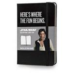 Записная книжка Moleskine Star Wars (90x140 мм, черная, модель 325245, линейка, 192 страницы)