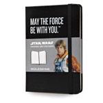 Записная книжка Moleskine Star Wars (90x140 мм, черная, модель 325252, нелинованная, 192 страницы)